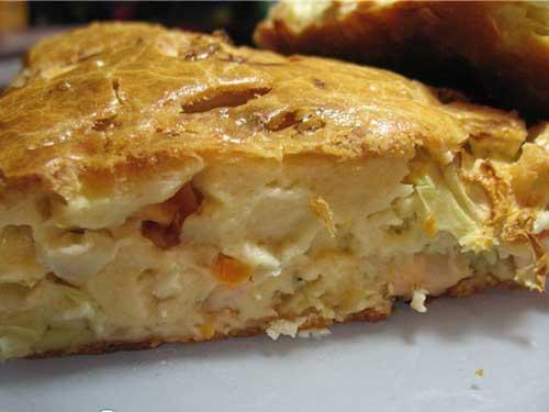 пироги из жидкого теста на духовке рецепт