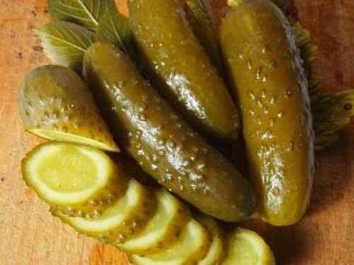 Рецепт огурцов соленых c